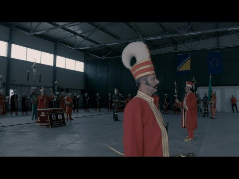 The Mehter band of the Turkish Army played at Camp Butmir