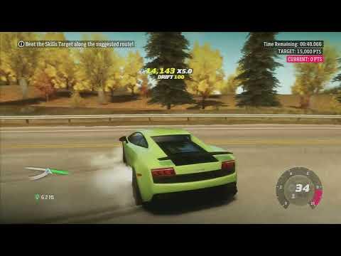 Forza Horizon: 2011 Lamborghini Gallardo LP570-4 - PR Stunts Skill Stunt (1080p)