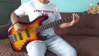 I know drake bell- bass cover -