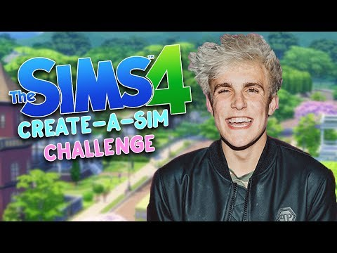 Thumbnail: JAKE PAUL | The Sims 4 Create A Sim | #JakePaul