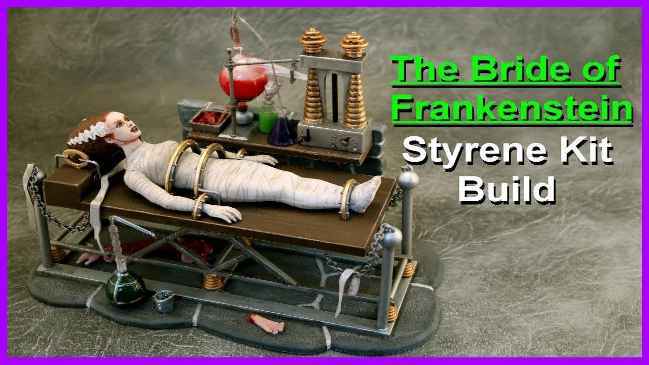 The Bride of Frankenstein Polar Lights Model build