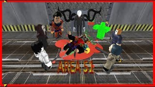 Survive and Kill the Killers in Area 51-con yeyit0 y juance 07- Roblox
