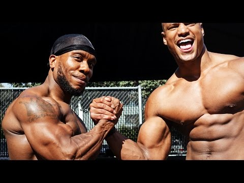 """POG vs BBC"" (Chris Jones & Brandon Carter Workout) PumpChasers / Bro Labs / physiques of greatness"