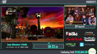 Awesome Games Done Quick 2015 - Part 23 - Sonic Adventures 2 Battle by Talon2461