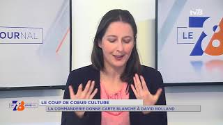 Coup de coeur culture : SQY donne carte blanche à David Rolland