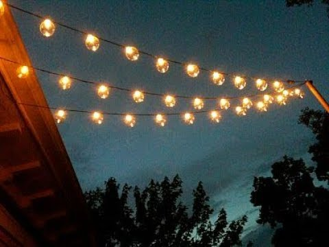 Patio Light Strings