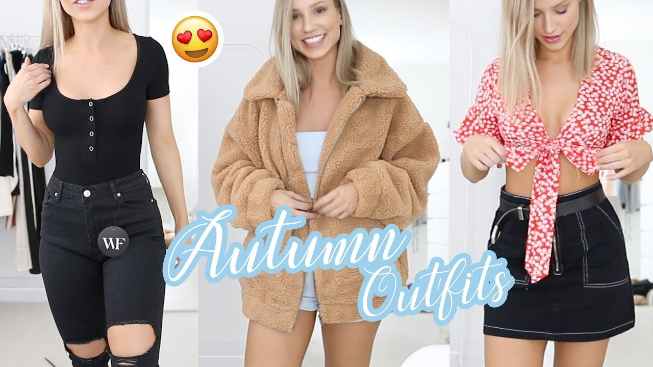PRETTY AUTUMN / FALL OUTFITS + Discount | Whitefox Boutique Haul 4