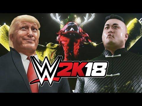 WWE 2K18 - World Leaders