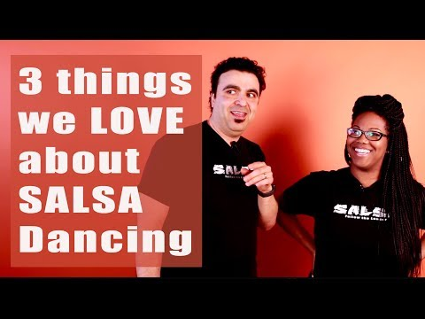 3 things we love about Salsa dancing