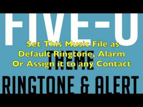 Hawaii Five-0 Theme Ringtone and Alert
