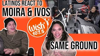"""Download Waleska & Efra react to Moira and IV of Spades perform """"Same Ground"""" LIVE on Wish  REACTION"""