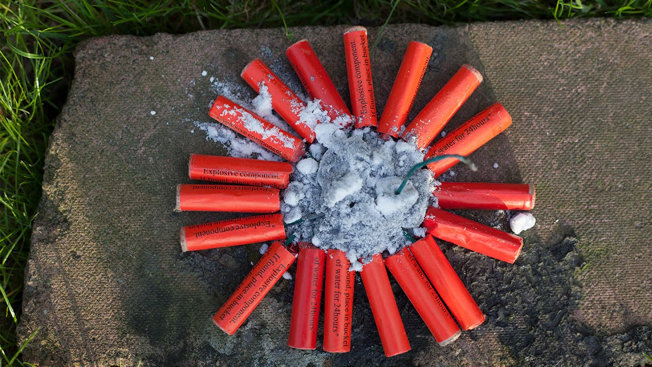 Big Firecracker Explosion - YouTube