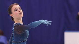 Анна Щербакова Короткая программа Женщины Командный чемпионат мира по фигурному катанию 2021