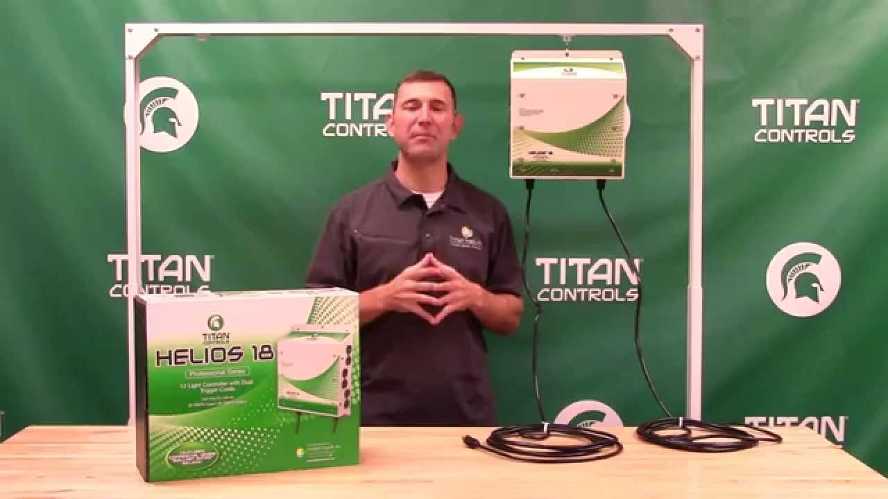 Titan Controls Helios 18 - 12 Light 240V Controller with Dual Trigger Cords