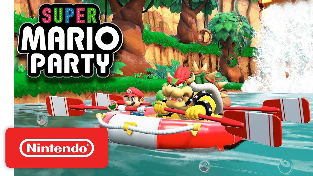 Super Mario Party River Survival Mode Nintendo Switch Youtube