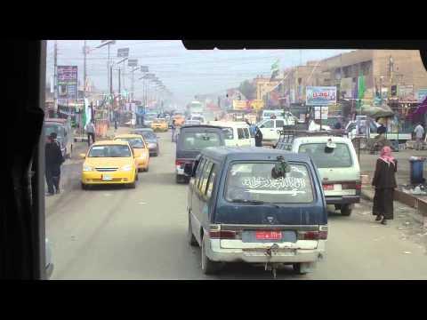 Iraq - Driving from Najaf to Samerra (HD)