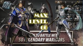 Dynasty Warriors Unleashed | Leveling to 60 Tips