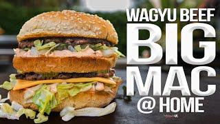 The Best Homemade Big Mac (with Wagyu Beef!) | SAM THE COOKING GUY 4K
