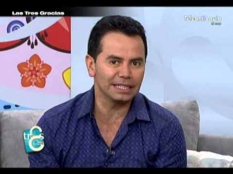 Lanzamiento del video clip Por andar enamorado del cantante Jhonny Rivera en Las Tres Gracias