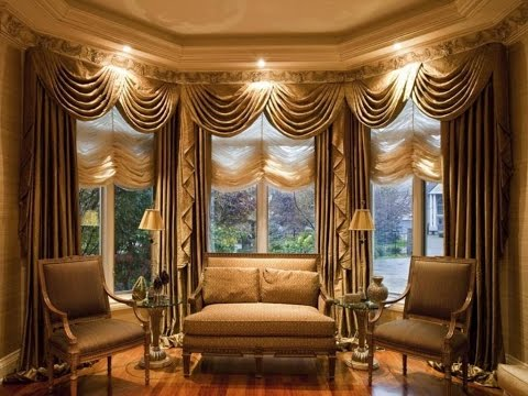 Elegant Curtains For Large Window Treatment - YouTube