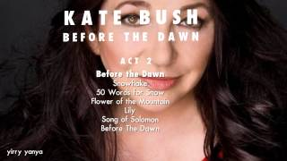 Kate Bush - Before The Dawn - dreaming of the setlist (teaser)