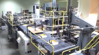 видео Производство подарочной упаковки и коробок