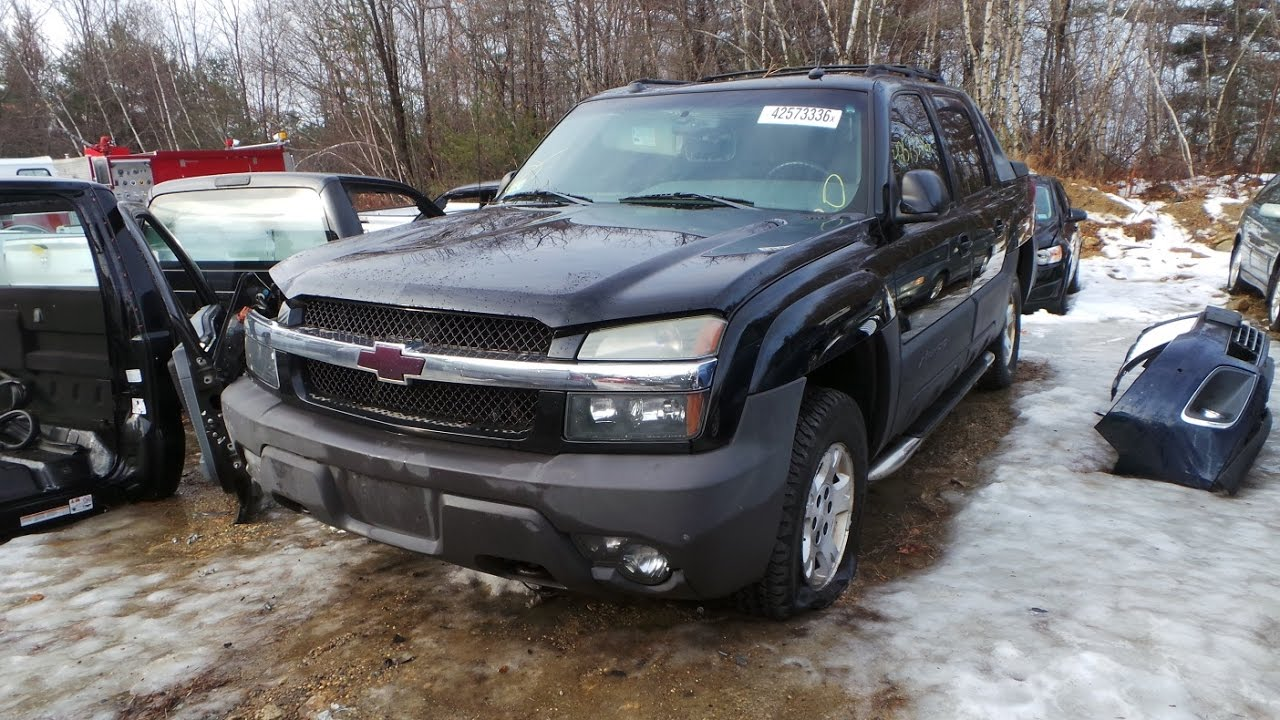Parting Out 2004 Chevy Avalanche | Stock # M60862 - YouTube