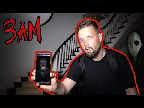 DO NOT TALK to SIRI AT 3AM FROM AN ABANDONED MANSION (SIRI's
