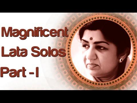 Lata Mangeshkar Solo Superhit Songs - Vol 1 - Old Bollywood Classic Songs