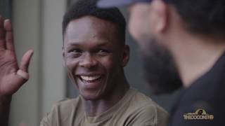 Israel Adesanya and Eugene Bareman interview each other at City Kickboxing ahead of UFC248