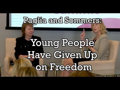 "Paglia: ""Young People Have Given Up on Freedom"""