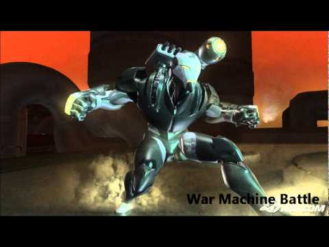 Marvel Ultimate Alliance 2 OST 513 - War Machine Battle