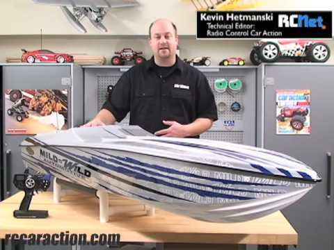 Huge RC Twin Gas Engine Boat! - YouTube