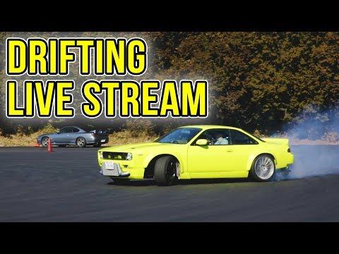 DRIFTING LIVE STREAM! [PART 2] – Gymkhana, Tsukuba Circuit
