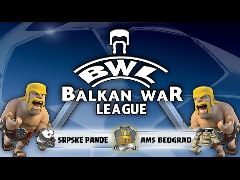 BALKAN WAR LEAGUE SRPSKE PANDE VS AMS BEOGRAD 1.KOLO