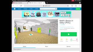 THE IMPOSSIBLE STAGE| Roblox: Baldi's Basics obby [Pyc] part 1