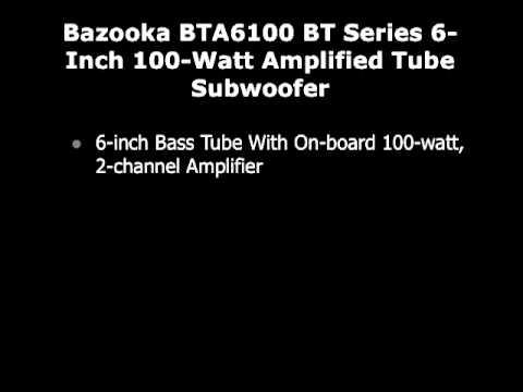 hqdefault subwoofer auto bazooka bta6100 bt series 6 inch 100 watt bazooka bta6100 wiring harness at edmiracle.co