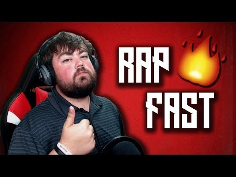 These 7 Steps Will 100% Make You Rap Faster | How To Rap Fast for Beginners