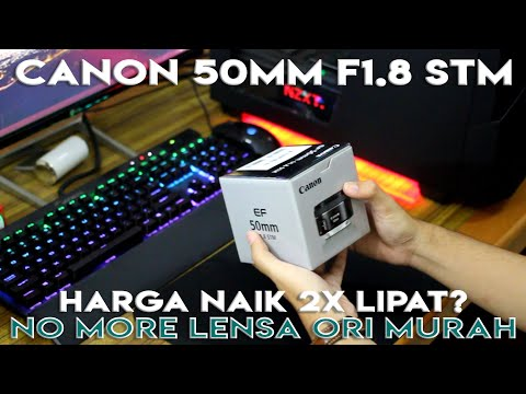 Review Canon EF 50mm F1.8 STM Indonesia :...