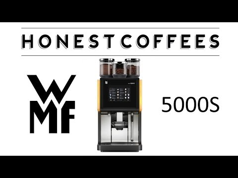 WMF 5000S Coffee Machine Overview & Setup Requirements