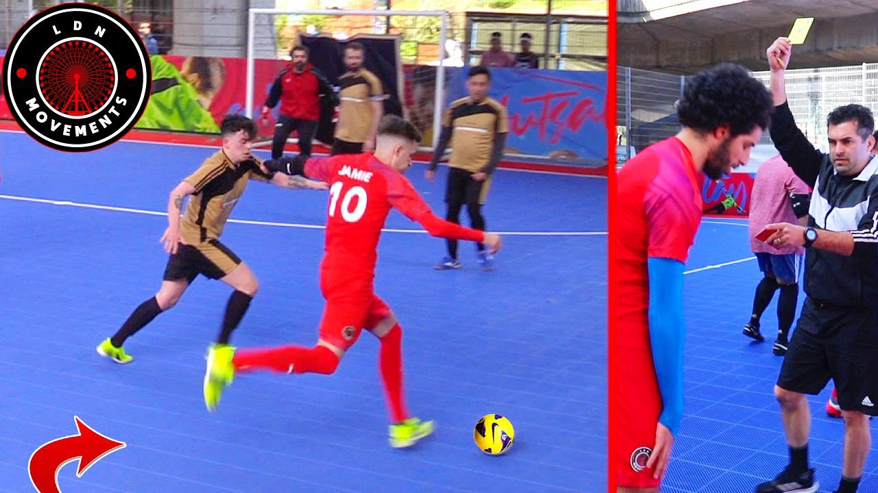 Download Playing in a PRO FUTSAL MATCH! (Crazy Football Skills, Goals & Nutmegs)