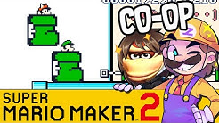 Donkey Kong Spiel in Mario! | SUPER MARIO MAKER 2 Coop
