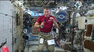 Italian Space Station Veteran Discusses Life in Space with Italian Media