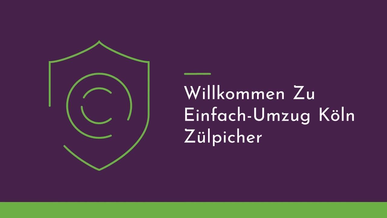 Einfach Umzugsfirma in Koln Zulpicher | 0221 - 98 88 62 58