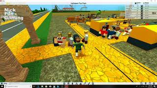 Halloween Park - Roblox Gaming exciting attractions