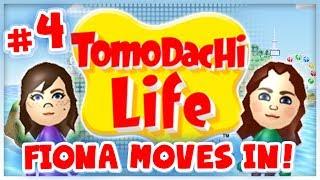 Tomodachi Life - #4 - Homeowner Fiona!