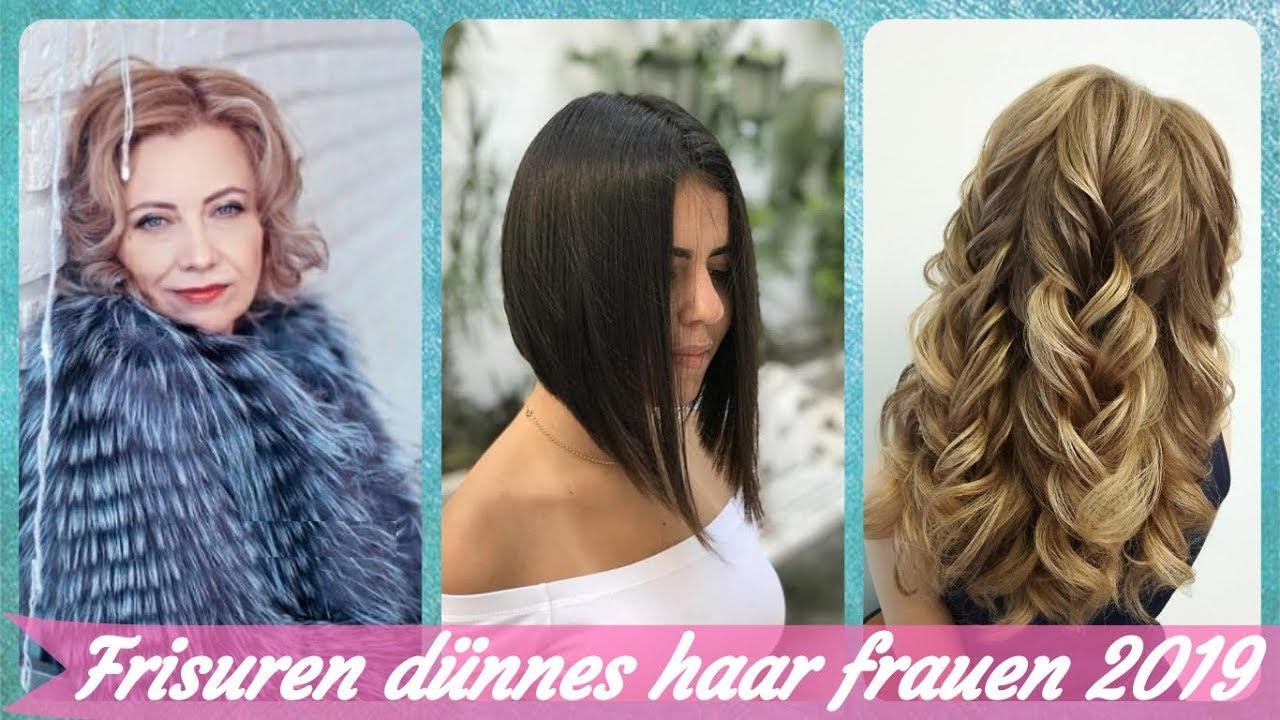 Die Schicke 20 Ideen Zu Frisuren Dünnes Haar Frauen 2019 Youtube