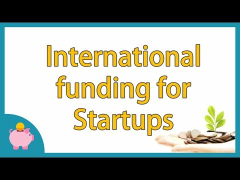 International funding for your startup