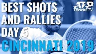 Best Shots And Rallies | Cincinnati 2019 Quarter-Finals