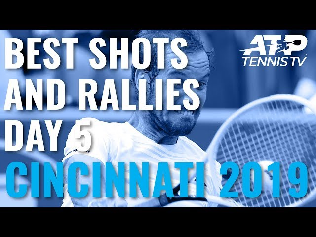 Best Shots And Rallies | Cincinnati 2019 Quarter-Finals